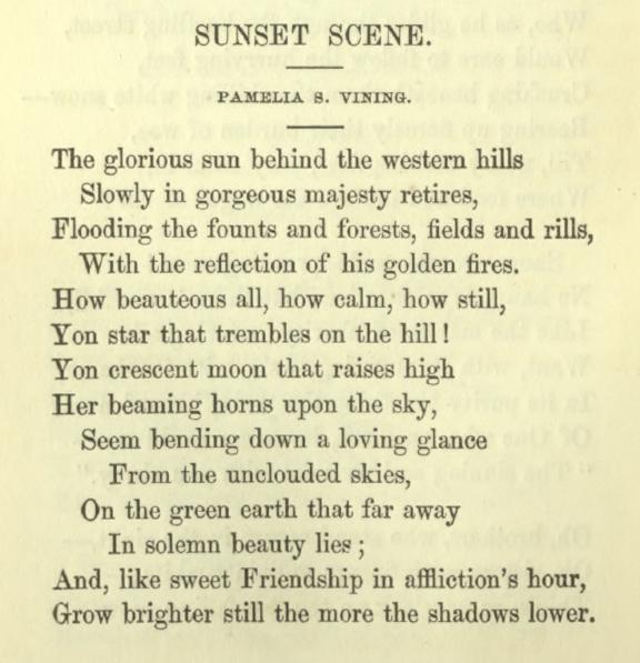 essay on sunset
