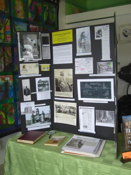 Part of the exhibit