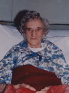 Rhoda Sivell in her later years