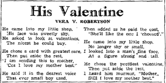 Winnipeg Free Press 14 Feb. 1939: 8.