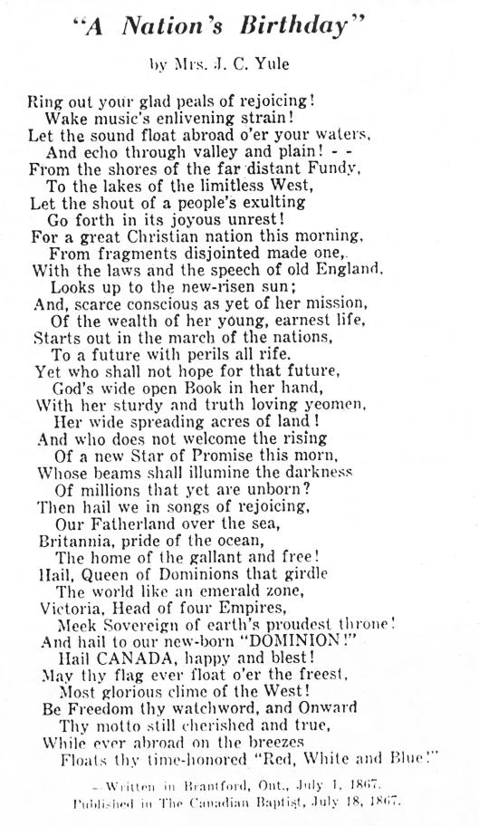 Yule poem