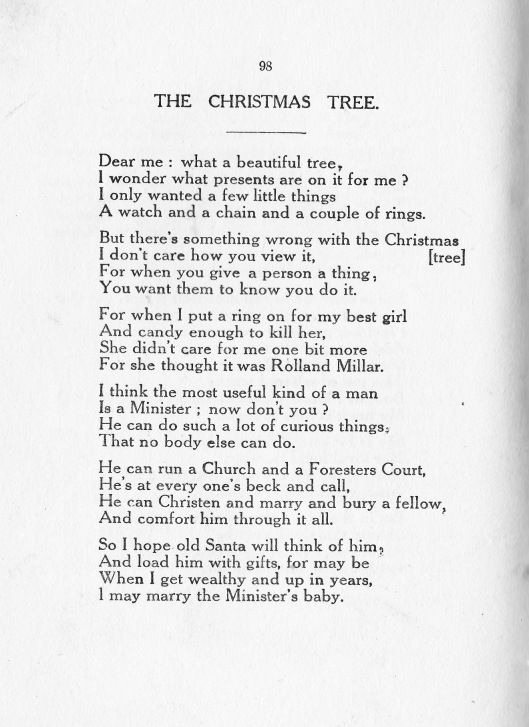 Arkley-Christmas tree