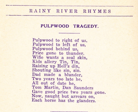 Ruttan-Pulpwood Tragedy