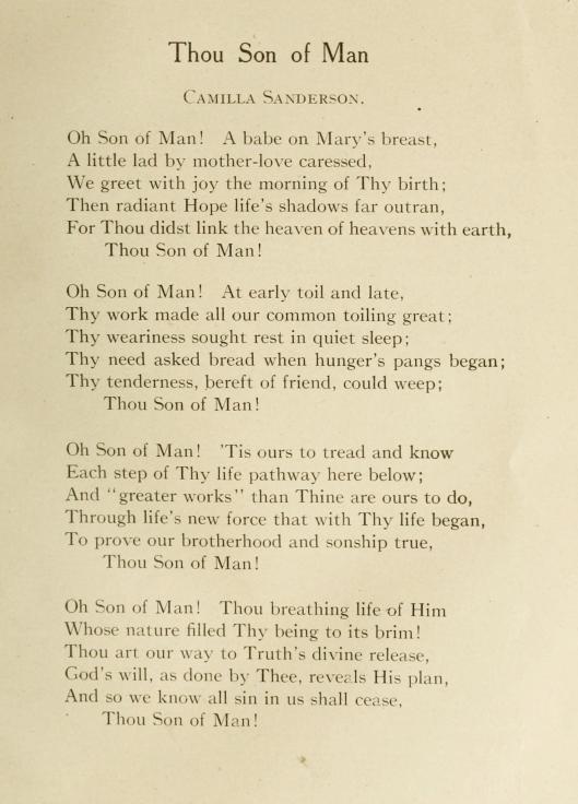 Sanderson C - Christmas poem