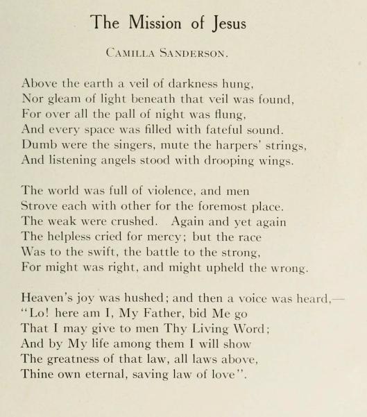 Sanderson C - Easter poem
