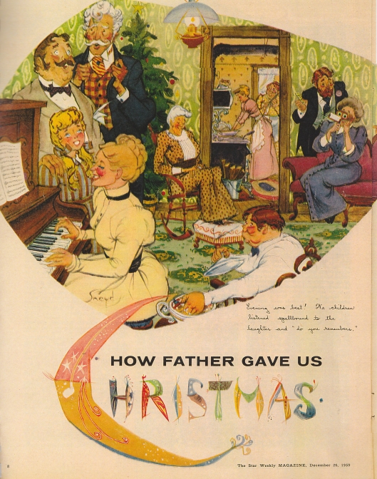 How Father Gave Us Christmas0
