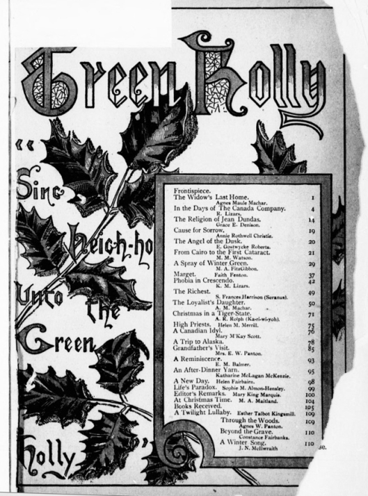 D-Green Holly ToC