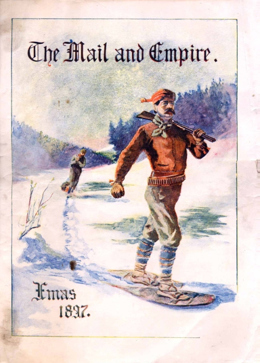 Mail and Empire, Christmas 1897: cover