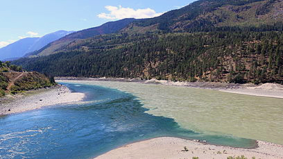 Image from the Wikipedia entry on the Thompson River
